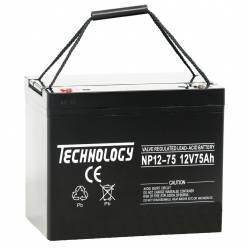 Аккумулятор ATABA AGM 12V 75Ah