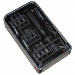 Набор 19 предм.(отвертка,биты) B&D X62565