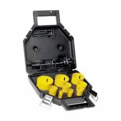 Набор цифенборов DeWALT, 13шт, d=16,19,25,32,38,44,48,51,64 мм, тримачi, валіза.