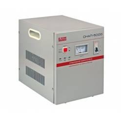 Стабилизатор напряжения СНАП-5000, однофазный, переносной