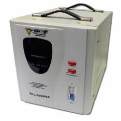 Стабилизатор напряжения однофазный FORTE SDC-5000VA