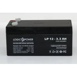 Аккумулятор  LP 12 - 3.3 AH