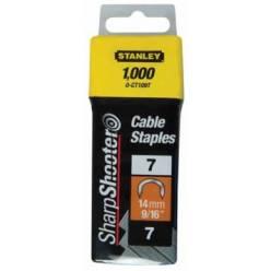 "Скобы для степлера  ""CABLE"",тип ""7"", 11мм, 1-CT107T"