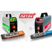 При покупке сварочного инвертора ПАТОН™, электроды в подарок!