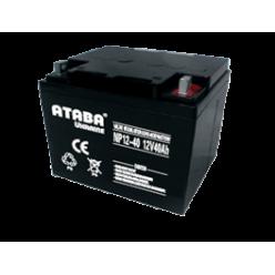 Аккумулятор ATABA AGM 12V 40Ah