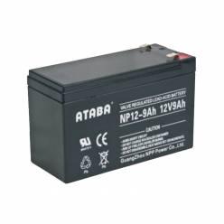 Аккумулятор ATABA AGM 12V 9Ah