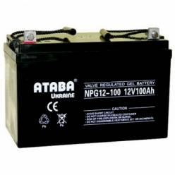 Аккумулятор ATABA GEL 12V 100Ah