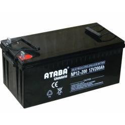 Аккумулятор ATABA GEL 12V 200Ah