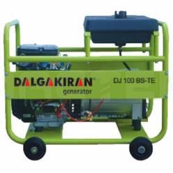 Бензиновый генератор DALGAKIRAN DJ 100 BS-TE трехфазный