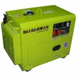 Дизельный генератор DALGAKIRAN DJ 7000 DG-ECS