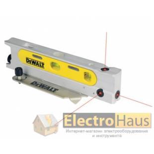 Уровень ручной 3-х лучевой лазерный DeWalt DW099P