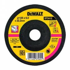 Круг шлифовальный по металлу, d=125мм, DeWALT DT3412-QZ