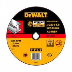 """Круг отрезной DeWALT """"EXTREME"""" по металлу, 230х1.9х22.2мм"""