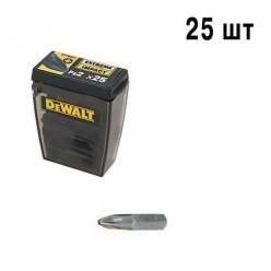 "Бита торсионная DeWALT ""Extra Grip"" Pz2, L=25мм, 25шт"