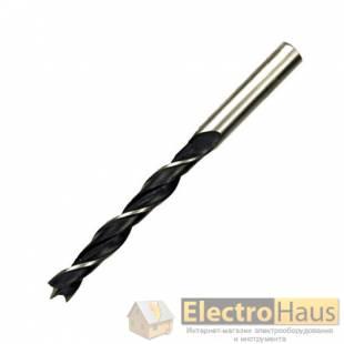Сверло по дереву  DeWALT, диаметр 3 мм, общая длина  70 мм, рабочая длина 46 мм.