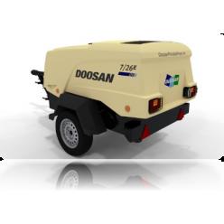 Дизельный винтовой компрессор Doosan 7/170
