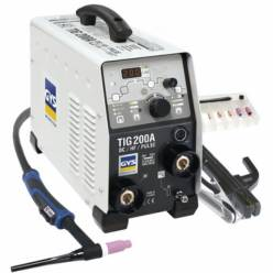Сварочный инвертор GYS TIG 200 DC HF FV (Франция)