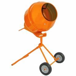Бетономешалка Кентавр БМ-140ПВ (оранжевая)