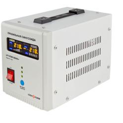 ИБП с правильной синусоидой LogicPower LPY-PSW-500VA+ (350W) 5A/10A 12V для котлов