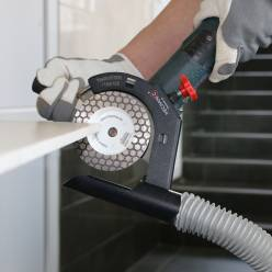 Кожух для отведения пыли Mechanic TileDUSTER 115-125