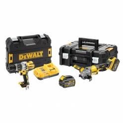 Набор электроинструментов DeWALT DCK2055T2T (DCD996 + DCG414)