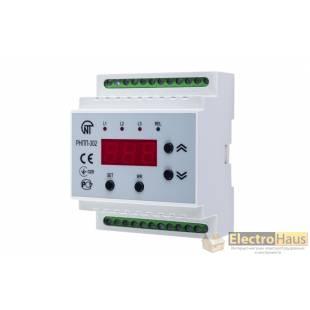 Реле напряжения и контроля фаз РНПП-302 Новатек-Электро