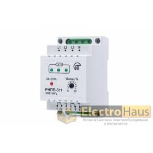 Реле напряжения и контроля фаз РНПП-311 Новатек-Электро