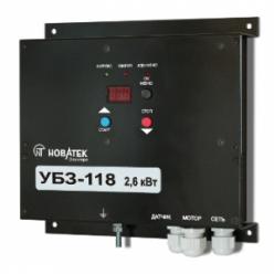 Универсальный блок защиты однофазных электродвигателей УБЗ-118
