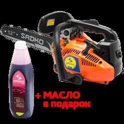 Бензопила Sadko GCS-254(+масло в подарок)