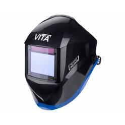 Сварочная маска хамелеон VITA TIG 3-A Pro True Color (металлические соты черные)
