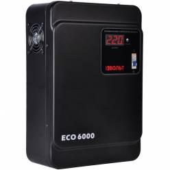 Стабилизатор напряжения ВОЛЬТ ECO-6000